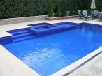 Rectangle pool and Spa